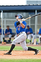 Dylan Brown of the Gulf Coast League Mets during the game against the Gulf Coast League Nationals June 27 2010 at the Washington Nationals complex in Viera, Florida.  Photo By Scott Jontes/Four Seam Images