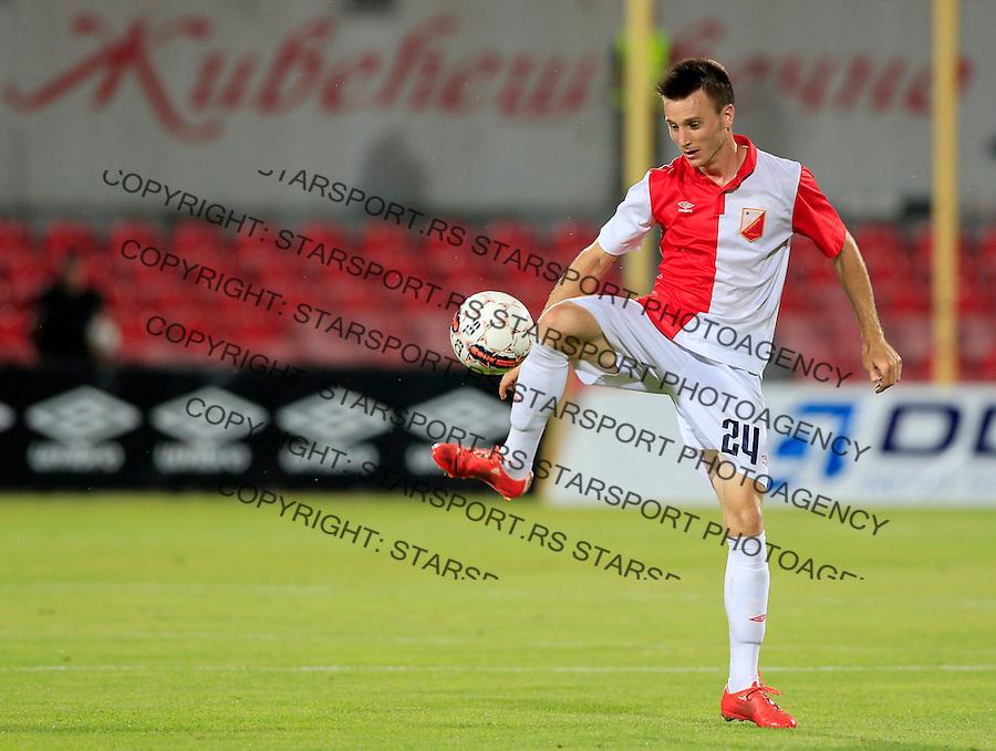 Fudbal UEFA Europa League 2015-2016<br /> Second qualifying round, First leg<br /> Vojvodina v Spartaks Jurmala<br /> Danilo Sekulic<br /> Novi Sad, 16.07.2015.<br /> foto: Srdjan Stevanovic/Starsportphoto &copy;