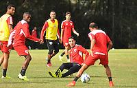 SÃO PAULO,SP, 29.05.2015 - FUTEBOL-SÃO PAULO - Centurion do São Paulo durante treinamento do São Paulo no CT da Barra Funda, zona oeste nesta sexta-feira, 29 (Foto: Bruno Ulivieri/Brazil Photo Press)