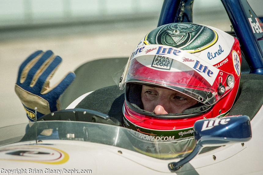 Max Papis, Marlboro Grand Prix of Miami, CART race, March 26, 2000.  (Photo by Brian Cleary/bcpix.com)