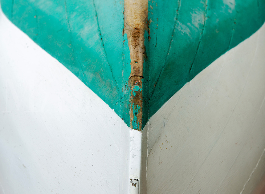 Rowboat detail.