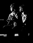 Rolling Stones 1970 Mick Jagger and Keith Richards.© Chris Walter.