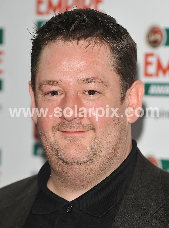 **ALL ROUND PICTURES FROM SOLARPIX.COM**.**WORLDWIDE SYNDICATION RIGHTS**.Red carpet arrivals at the Jameson Empire Awards 2010. Held at Grosvenor House, Mayfair, London, UK. 28 March 2010..This pic: Johnny Vegas..JOB REF: 10995 SSD    DATE: 28_03_2010.**MUST CREDIT SOLARPIX.COM OR DOUBLE FEE WILL BE CHARGED**.**MUST NOTIFY SOLARPIX OF ONLINE USAGE**.**CALL US ON: +34 952 811 768 or LOW RATE FROM UK 0844 617 7637**