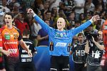 Jubel von Rhein Neckar Loewe Mikael Appelgren (Nr.1)  beim Spiel in der Champions League, Rhein Neckar Loewen - Barca Lassa.<br /> <br /> Foto &copy; PIX-Sportfotos *** Foto ist honorarpflichtig! *** Auf Anfrage in hoeherer Qualitaet/Aufloesung. Belegexemplar erbeten. Veroeffentlichung ausschliesslich fuer journalistisch-publizistische Zwecke. For editorial use only.