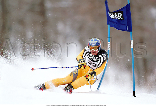 PATRICK HOLZER (ITA), Men's Giant Slalom, World Cup Skiing, Val D'Isere 001210 Photo:Neil Tingle/Action Plus...2000.Snow.winter sport.winter sports.wintersport.wintersports.alpine.ski.skier.man