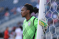 Chester, PA - October 26, 2014: Mexico defeated Trinidad & Tobago 4-2 in overtime during the third place game of the  CONCACAF Women's Championship at PPL Park.