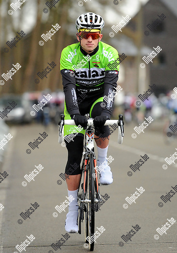2014-03-01 / Wielrennen / seizoen 2014 / Yoran Vanderveken<br /><br />Foto: mpics.be