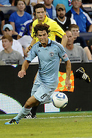 Graham Zusi Sporting KC in action... Sporting Kansas City defeated Real Salt Lake 2-0 at LIVESTRONG Sporting Park, Kansas City, Kansas.