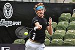 11.06.2019, Tennisclub Weissenhof e. V., Stuttgart, GER, Mercedes Cup 2019, ATP 250, Oliver MARACH (AUT) Juergen MELZER (AUT) [4] vs Alexander ZVEREV (GER) Mischa ZVEREV (GER)<br /> <br /> im Bild Alexander ZVEREV (GER)<br /> <br /> Foto © nordphoto/Mauelshagen