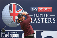 Tommy Fleetwood (ENG) on the 12th tee during Round 1of the Sky Sports British Masters at Walton Heath Golf Club in Tadworth, Surrey, England on Thursday 11th Oct 2018.<br /> Picture:  Thos Caffrey | Golffile<br /> <br /> All photo usage must carry mandatory copyright credit (© Golffile | Thos Caffrey)