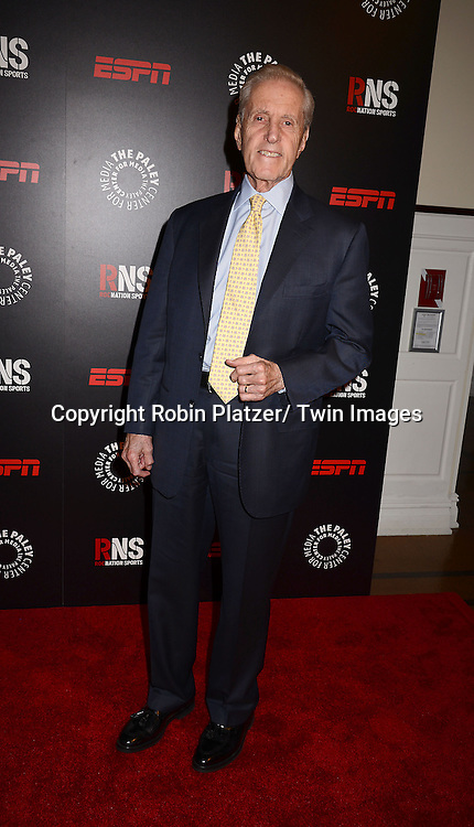 Fred Wilpon attends The Paley Center for Media's Annual Benefit Dinner honoring ESPN' s 35th Anniversary on May 28, 2014 at 583 Park Avenue in New York City, NY, USA.