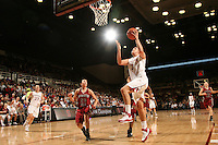 STANFORD, CA - JANUARY 10:  Forward Jayne Appel #2 of the Stanford Cardinal during Stanford's 102-53 win against the Washington State Cougars on January 10, 2009 at Maples Pavilion in Stanford, California.