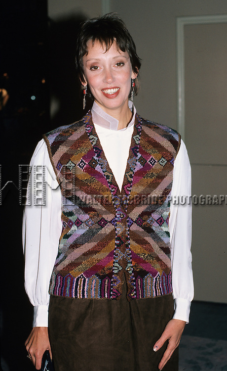 Shelley Duvall pictured in Los Angeles in 1986.