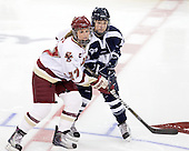 Laura Hart (BC - 27), ? - The Boston College Eagles and the visiting University of New Hampshire Wildcats played to a scoreless tie in BC's senior game on Saturday, February 19, 2011, at Conte Forum in Chestnut Hill, Massachusetts.