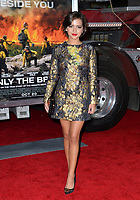 Isabela Moner at the premiere for &quot;Only The Brave&quot; at the Regency Village Theatre, Westwood. Los Angeles, USA 08 October  2017<br /> Picture: Paul Smith/Featureflash/SilverHub 0208 004 5359 sales@silverhubmedia.com