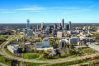 Charlotte North Carolina Skyline Aerials