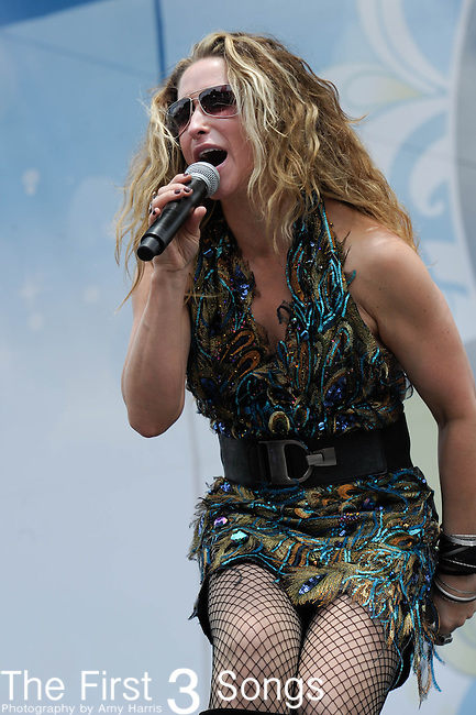 Heidi Newfield performs at the Riverfront Stage during the 2012 CMA Music Festival in Nashville, Tennessee.