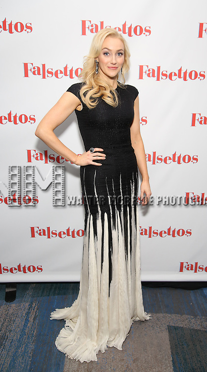 Betsy Wolfe attends the Opening Night After Party for 'Falsettos'  at the New York Hilton Hotel on October 27, 2016 in New York City.
