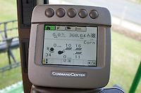 John Deere combine control