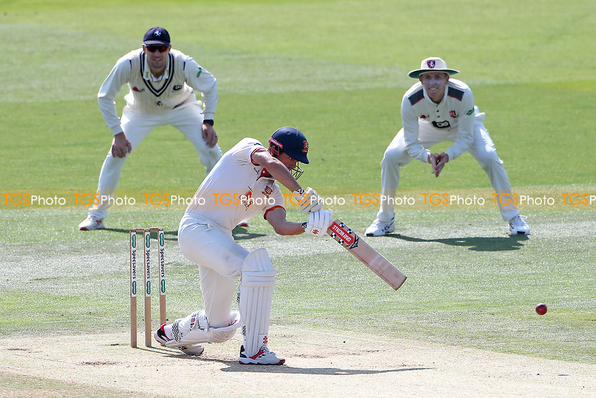 Alastair Cook hits 4 runs for Essex during Kent CCC vs Essex CCC, Specsavers County Championship Division 1 Cricket at the St Lawrence Ground on 20th August 2019