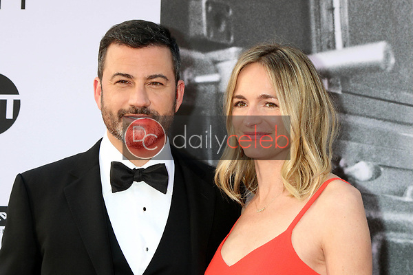 Jimmy Kimmel, Molly McNearney<br /> at the American Film Institute Lifetime Achievement Award to George Clooney, Dolby Theater, Hollywood, CA 06-07-18<br /> David Edwards/DailyCeleb.com 818-249-4998