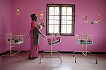 CHENNAI, INDIA, JULY 2012: Terre des Home drop center where the mother can leave their own daughter and be sure that they are going to be in a safe place, ,july 2012.© Giulio Di Sturco