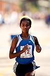 Quad Cities Marathon 2009 - Women's Marathon Winning Racer Buzunesh Deba.