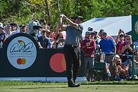 Phil Mickelson (USA) watches his tee shot on 7 during round 1 of the Arnold Palmer Invitational at Bay Hill Golf Club, Bay Hill, Florida. 3/7/2019.<br /> Picture: Golffile | Ken Murray<br /> <br /> <br /> All photo usage must carry mandatory copyright credit (© Golffile | Ken Murray)