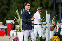 NZL-James Avery: The riders walk the course for the Show Jumping for the CCI5*-L. Les 5 Etoiles de Pau. Pyrenees Atlantiques. France. Sunday 27 October. Copyright Photo: Libby Law Photography