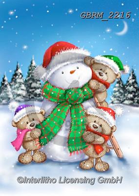 Roger, CHRISTMAS ANIMALS, WEIHNACHTEN TIERE, NAVIDAD ANIMALES, paintings+++++,GBRM2216,#xa#