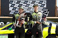 Winners #14 AIM Vasser Sullivan Lexus RC F GT3, GTD: Richard Heistand, Jack Hawksworth