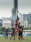 Penguins vs Irish Vikings during day 1 of the 2014 GFI HKFC Tens at the Hong Kong Football Club on 26 March 2014. Photo by Juan Flor / Power Sport Images