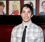 Justin Long.attending the Announcements for the 2012 Drama League Nominations held at Sardi's on 4/24/2012 in New York City. © Walter McBride / Retna Ltd.