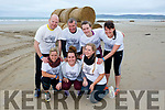 At the Banna Beach Beast Challenge on Saturday were front l-r Kerry O'Sullivan, Jordan O'Connor, Rochelle Lucey, Back l-r Nigel Houlihan, Mark O'Connor, Katie O'Connor and Kerry O'Connor