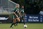 12 September 2013: Miami's Erin McGovern. The Duke University Blue Devils hosted the University of Miami Hurricanes at Koskinen Stadium in Durham, NC in a 2013 NCAA Division I Women's Soccer match. Duke won the game 3-0.