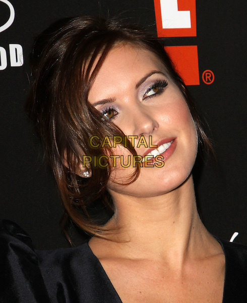AUDRINA PATRIDGE.E! Oscar Viewing And After Party held At Drai's at The W Hotel, Hollywood, California, USA..March 7th, 2010.headshot portrait black.CAP/ADM/KB.©Kevan Brooks/AdMedia/Capital Pictures.