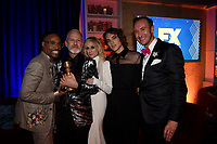 BEVERLY HILLS - JANUARY 6: (L-R) Billy Porter, Ryan Murphy, Judith Light, Cody Fern and Adam Porter-Smith attend the 2019 Fox Nominee Party for the 76th Annual Golden Globe Awards at the Fox Terrace on the Roof Deck of the Beverly Hilton on January 6, 2019, in Beverly Hills, California. (Photo by Frank Micelotta/Fox/PictureGroup)