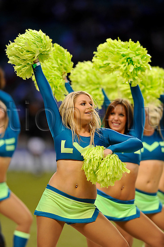 27.12.2010 Aviva Premiership Rugby from Twickenham. Harlequins v London Irish. LV= dancers performs before kick off at Twickenham