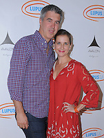 21 September 2016 - Hollywood, California. Keith Christian, Kellie Martin. 8th Annual Get Lucky for Lupus LA Celebrity Poker Tournament  held at Avalon Hollywood. Photo Credit: Birdie Thompson/AdMedia