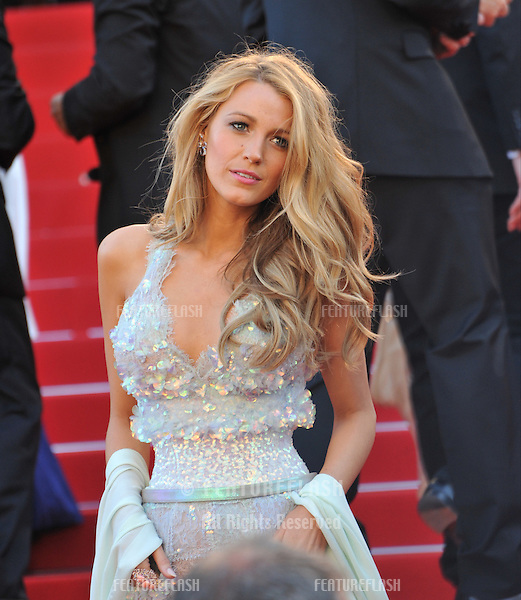 Blake Lively at the premiere of &quot;Mr. Turner&quot; at the 67th Festival de Cannes.<br /> May 15, 2014  Cannes, France<br /> Picture: Paul Smith / Featureflash