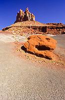 Scenic shot of red rocks at Capitol Reefs, Utah, USA