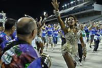 SÃO PAULO, SP, 28 DE JANEIRO DE 2012 - ENSAIO TÉCNICO VILA MARIA - Quiteria Chagas durante ensaio técnico da Escola de Samba Unidos de Vila Maria na praparação para o Carnaval 2012. O ensaio foi realizado na noite deste sabado no Sambódromo do Anhembi, zona norte da cidade. FOTO: LEVI BIANCO - NEWS FREE