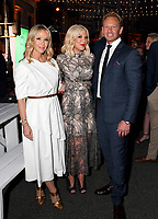 BEVERLY HILLS - AUGUST 7: Jennie Garth, Tori Spelling and Ian Ziering attend the FOX 2019 Summer TCA All-Star Party on New York Street on the FOX Studios lot on August 7, 2019 in Los Angeles, California. (Photo by Vince Bucci/FOX/PictureGroup)