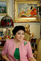 9_Philippines - Imelda Marcos exclusive images  in her Homes Manila, May2007
