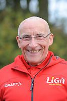 SCHAATSEN: HEERENVEEN: IJsstadion Thialf, 30-10-2012, Perspresentatie Team LiGA, Floor van Leeuwen (assistent-trainer), ©foto Martin de Jong