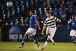 09 December 2011: UNCC's Robby Thomas (29). The Creighton University Bluejays played the University of North Carolina Charlotte 49ers to a 0-0 overtime tie, the 49ers won the penalty shootout 4-1 to advance at Regions Park in Hoover, Alabama in an NCAA Division I Men's Soccer College Cup semifinal game.