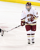 Allie Thunstrom (Boston College - 9) - The Providence College Friars defeated the Boston College Eagles 2-1 (shootout) on Saturday, February 21, 2009, on BC's senior night at Conte Forum in Chestnut Hill, Massachusetts.