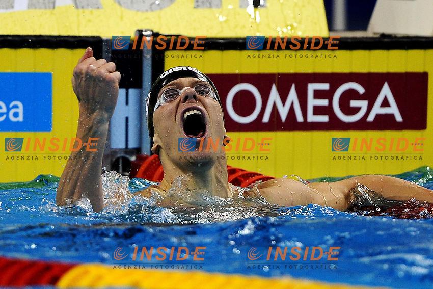 Cesar CIELO FILHO Gold Medal.Men's 50m Butterfly - Swimming / Nuoto.Shanghai 25/7/2011 .14th FINA World Championships.Foto Andrea Staccioli Insidefoto