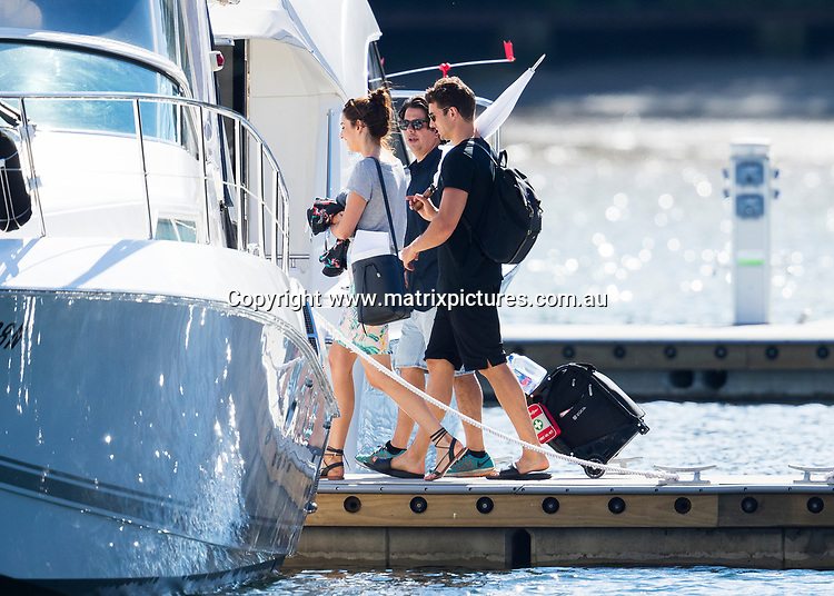 Exclusive Photos of Matty J out on Sydney Harbour doing a photoshoot on a nice Catamaran wearing some nautical themed shorts. No date was present.<br /> <br /> 26th April 2017<br /> SYDNEY, AUSTRALIA<br /> <br /> 26th April 2017<br /> <br /> *ALL WEB USE MUST BE CLEARED*<br /> <br /> Please contact prior to use:  <br /> <br /> +61 2 9211-1088 or email images@matrixmediagroup.com.au <br /> <br /> Note: All editorial images subject to the following: For editorial use only. Additional clearance required for commercial, wireless, internet or promotional use.Images may not be altered or modified. Matrix Media Group makes no representations or warranties regarding names, trademarks or logos appearing in the images.