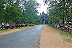Victory Gate At Ankor Thom